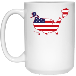 Greenland US map Mug 4