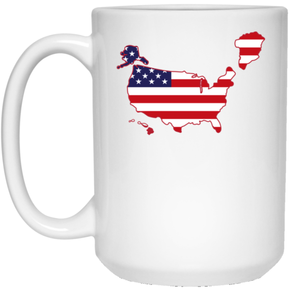 Greenland US map Mug 2