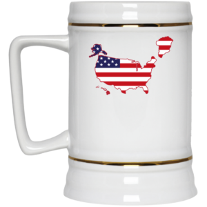 Greenland US map Mug 5