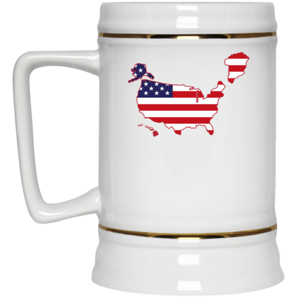 Greenland US map Mug 3