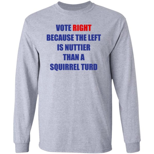 Vote Right Because the Left Is Nuttier Than a Squirrel Turd 5