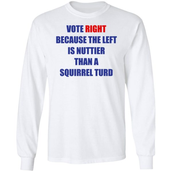 Vote Right Because the Left Is Nuttier Than a Squirrel Turd 6