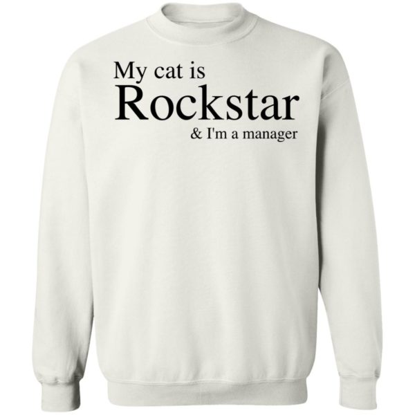 My Cat Is Rockstar and I'm A Manager 9