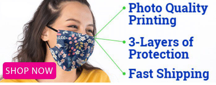 Face Mask - PRINTED IN THE USA